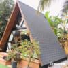 Nhà tam giác 1 tầng 23m2
