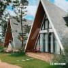 Nhà tam giác có gác xép 37m2